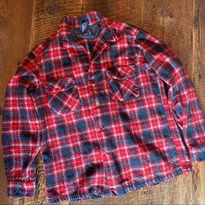 Pendleton Wool Flannel Shirt Large